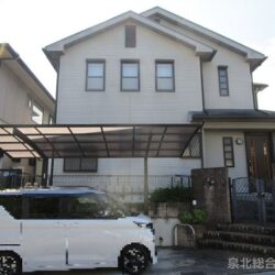 堺市南区 庭代台3丁賃貸戸建 北西角地で日当たり良好! オール電化住宅です。