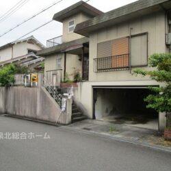 堺市南区 新檜尾台1丁建築条件の無い売り土地です(古家付き) 敷地面積72.76坪