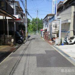 堺市南区 原山台5丁古家付き売り土地 敷地面積16.83坪