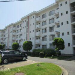 堺市南区 茶山台第一次住宅8号棟 4階部分、南向き、眺望良好