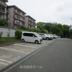敷地内駐車場周辺