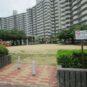 敷地内の大型公園