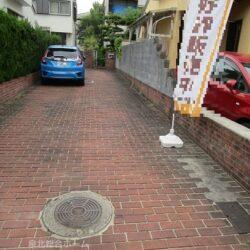 堺市南区 高倉台2丁売り土地  建築条件はありません 旗竿地形ですが敷地面積50.75坪付き(古家有り)