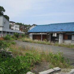 堺市南区美木多上 売り土地110坪 バス通りに面し事務所兼自宅や店舗兼自宅向きです 建築条件はありません
